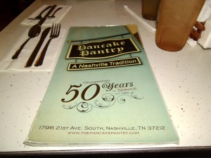 pancake pantry menu