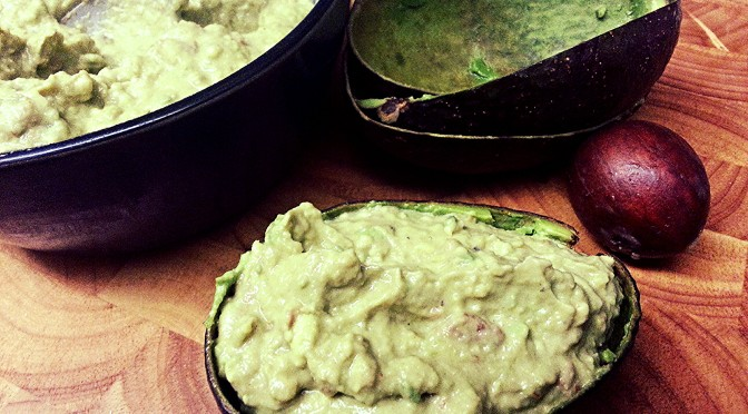 Day 37 – How To Make A Quick Guacamole…