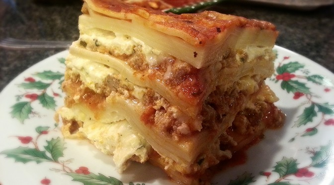 Day 38 – How To Make My Mom's Lasagna…